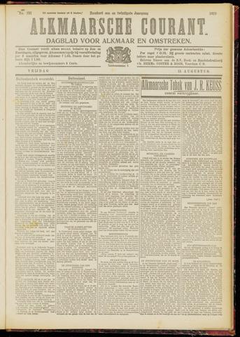 Alkmaarsche Courant 1919-08-15