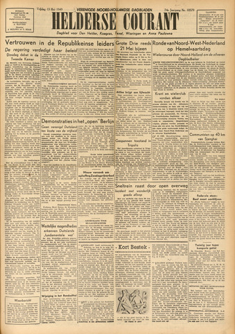 Heldersche Courant 1949-05-13