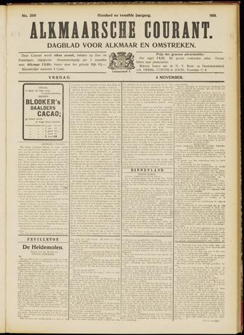 Alkmaarsche Courant 1910-11-04