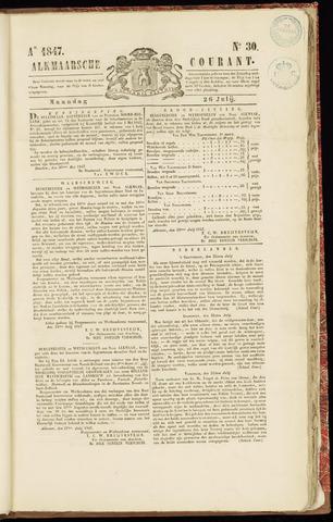 Alkmaarsche Courant 1847-07-26