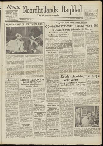Nieuw Noordhollandsch Dagblad : voor Alkmaar en omgeving 1948-04-17