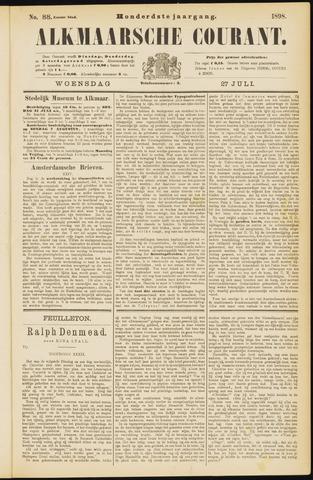 Alkmaarsche Courant 1898-07-27