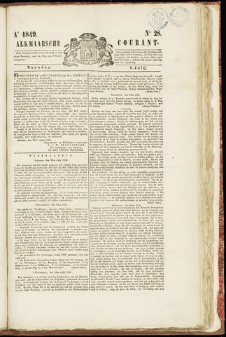 Alkmaarsche Courant 1849-07-09