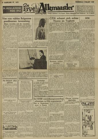 De Vrije Alkmaarder 1949-03-09