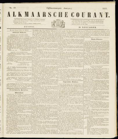 Alkmaarsche Courant 1873-11-30