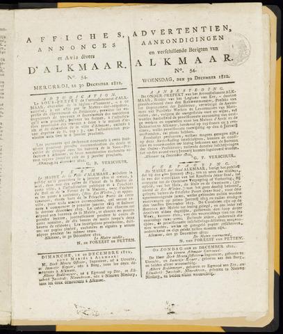 Alkmaarsche Courant 1812-12-30