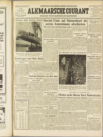 Alkmaarsche Courant 1955-08-03