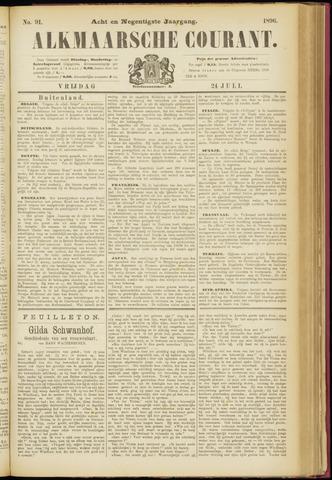 Alkmaarsche Courant 1896-07-24