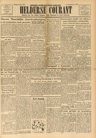 Heldersche Courant 1950-08-22