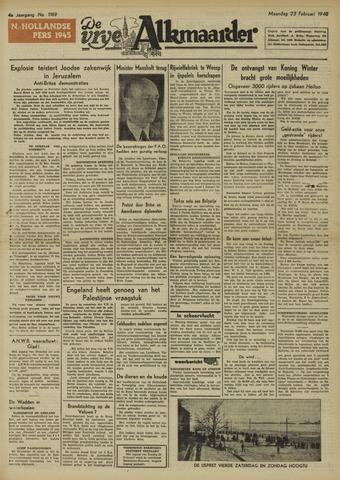De Vrije Alkmaarder 1948-02-23