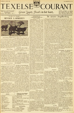 Texelsche Courant 1960-04-09