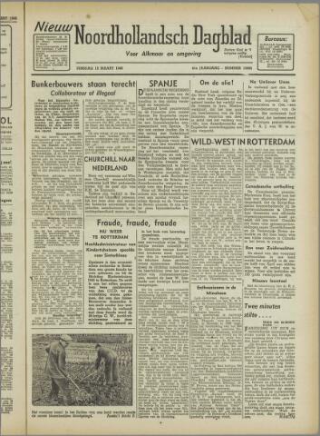 Nieuw Noordhollandsch Dagblad : voor Alkmaar en omgeving 1946-03-19