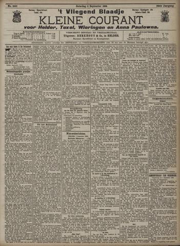 Vliegend blaadje : nieuws- en advertentiebode voor Den Helder 1906-09-08