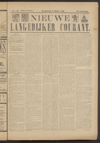Nieuwe Langedijker Courant 1922-03-02