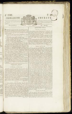 Alkmaarsche Courant 1840-07-13