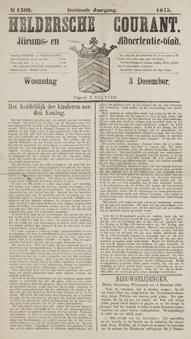 Heldersche Courant 1873-12-03