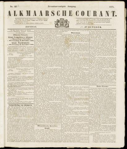Alkmaarsche Courant 1875-10-24