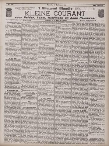 Vliegend blaadje : nieuws- en advertentiebode voor Den Helder 1913-09-10
