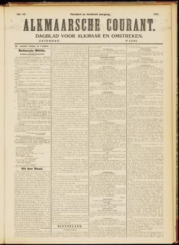 Alkmaarsche Courant 1911-06-17