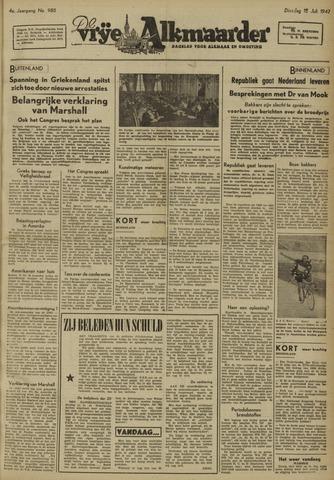 De Vrije Alkmaarder 1947-07-15