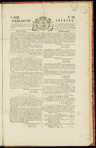 Alkmaarsche Courant 1853-12-26