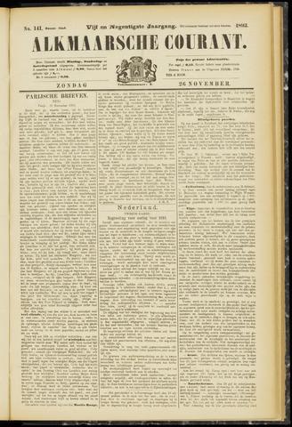 Alkmaarsche Courant 1893-11-26