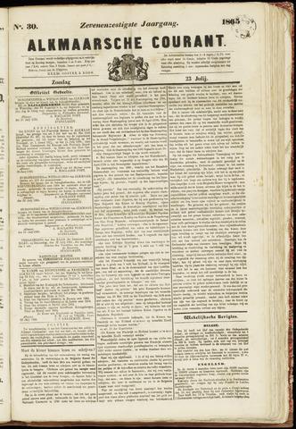 Alkmaarsche Courant 1865-07-23