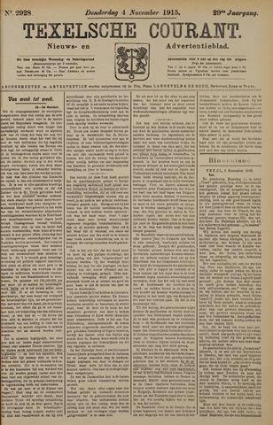 Texelsche Courant 1915-11-04