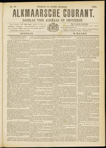 Alkmaarsche Courant 1906-03-13