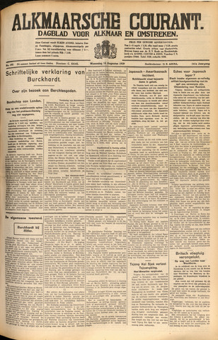 Alkmaarsche Courant 1939-08-16