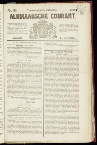 Alkmaarsche Courant 1857-12-21