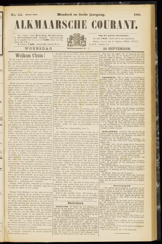 Alkmaarsche Courant 1901-09-25