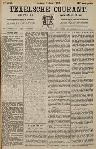 Texelsche Courant 1910-07-03