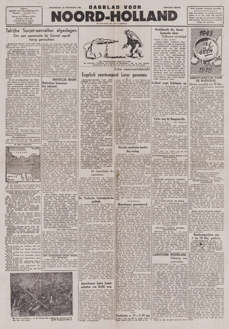 Dagblad Noord-Holland, Schager editie 1943-11-18