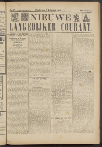 Nieuwe Langedijker Courant 1923-02-08