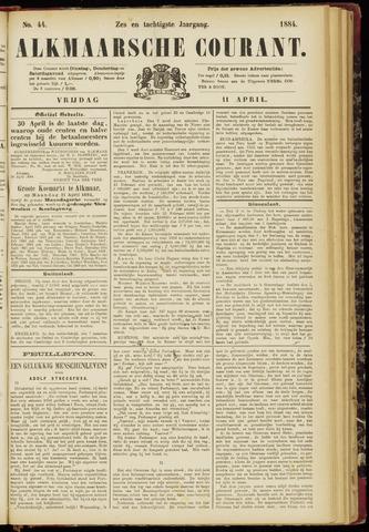 Alkmaarsche Courant 1884-04-11
