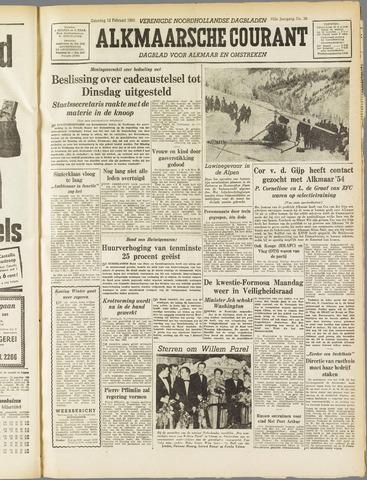 Alkmaarsche Courant 1955-02-12