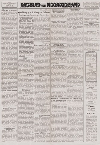 Dagblad Noord-Holland, Schager editie 1944-09-13