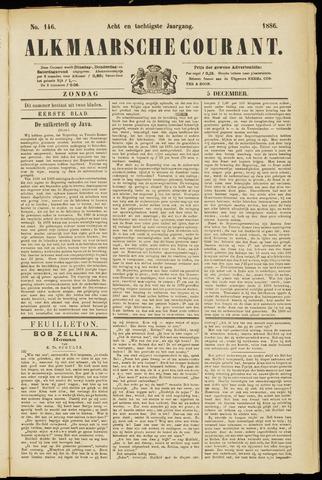 Alkmaarsche Courant 1886-12-05