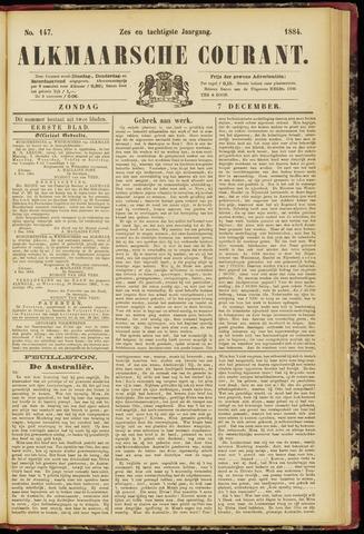 Alkmaarsche Courant 1884-12-07