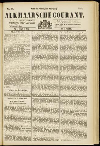 Alkmaarsche Courant 1886-04-28