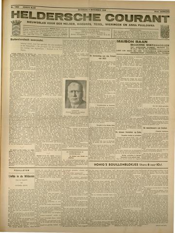 Heldersche Courant 1933-11-11