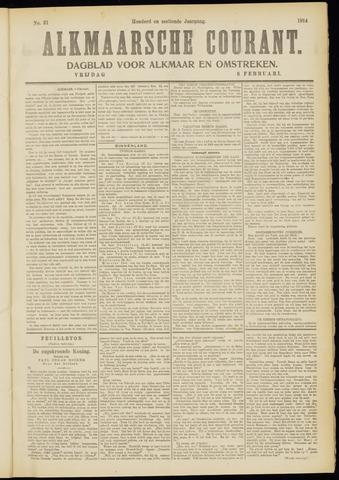 Alkmaarsche Courant 1914-02-06