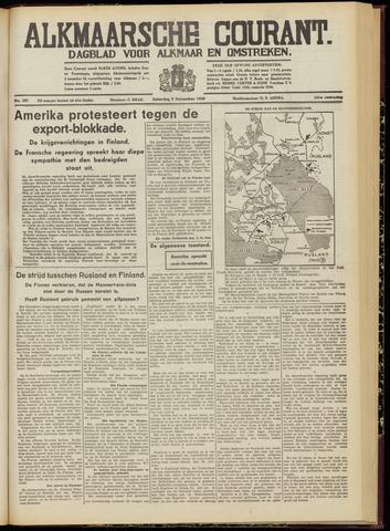 Alkmaarsche Courant 1939-12-09