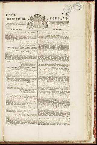 Alkmaarsche Courant 1849-08-20