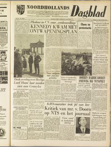 Noordhollands Dagblad : dagblad voor Alkmaar en omgeving 1961-09-26