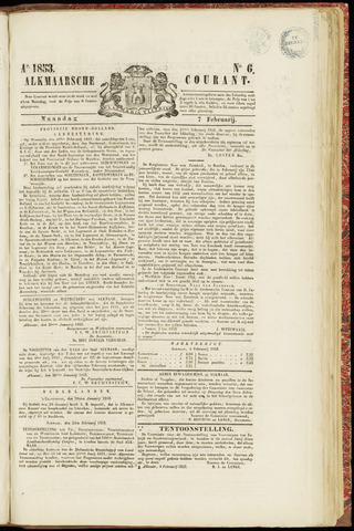 Alkmaarsche Courant 1853-02-07