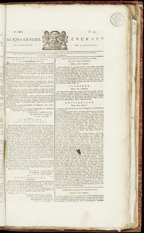 Alkmaarsche Courant 1825-08-15