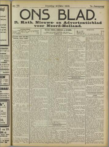 Ons Blad : katholiek nieuwsblad voor N-H 1913-05-20