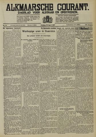 Alkmaarsche Courant 1937-04-30